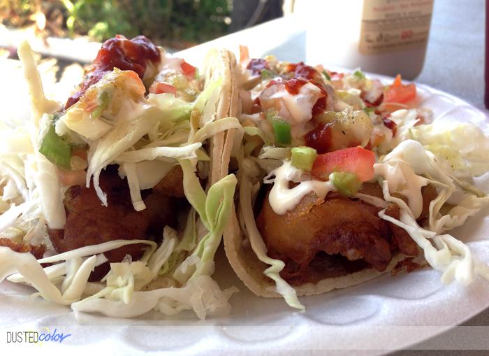 Ricky's Fish Taco, Los Angeles – Under aTent