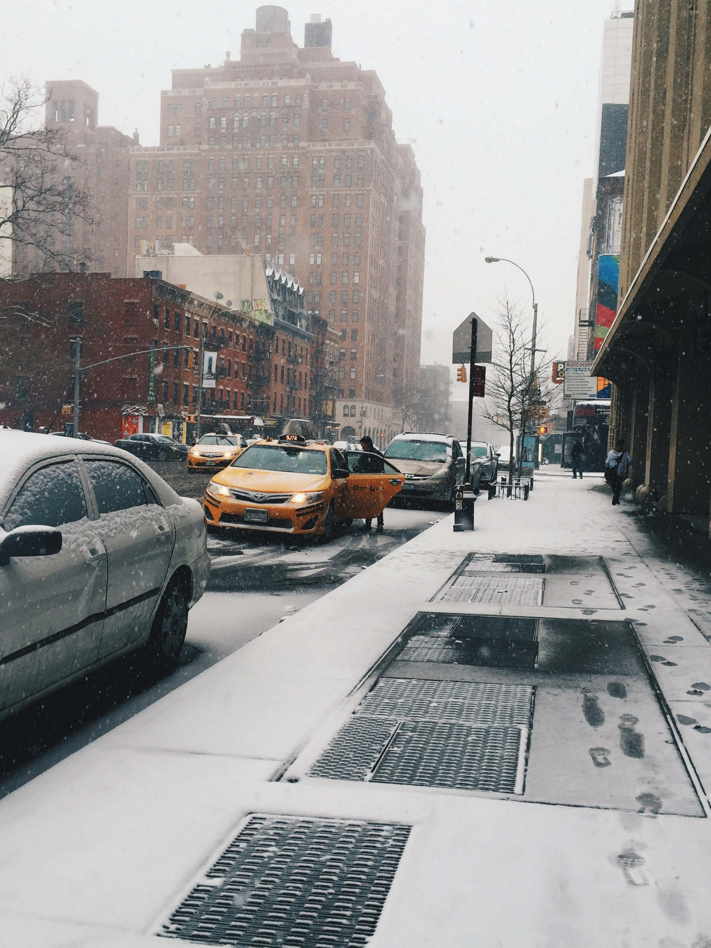 Living in New YorkCity
